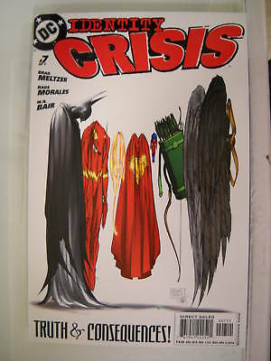Dc Comics Identity Crisis #7 Of 7  Michael Turner Cover
