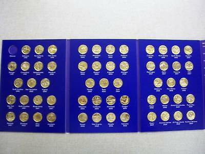 1999-2009 24kt. Gold Plated Quarters Album Of Fifty-Six