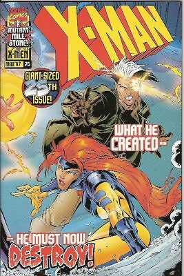 X-Man #25 (Marvel) Double-Sized Issue
