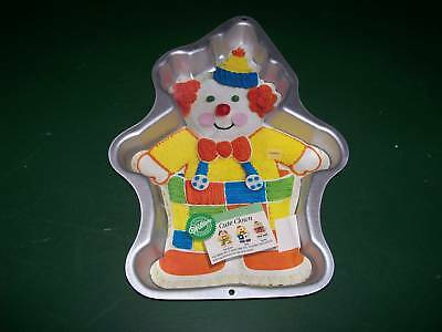 Cute Clown Wilton Cake Pan With Instructions