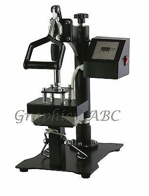 New Model Cap HEAT PRESS with Cap Mounting Clamp Hat