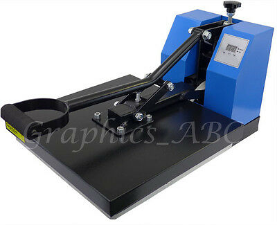 15x15 Digital T-Shirt Heat Transfer Press Machine w/ PTFE Sheet 1 year Warranty!