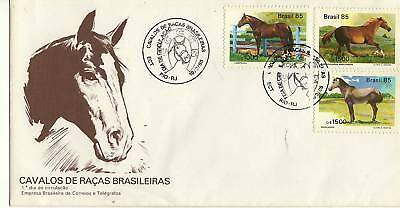 A 1985 Fdc From Brazil