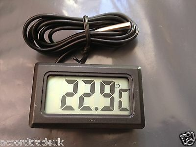 Digital Lcd Thermometer For Refrigerator Freezer-Uk