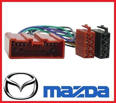 ISO WIRING HARNESS for MAZDA 2 3 6 323 626 BT50 MX5 TRIBUTE cable plug lead