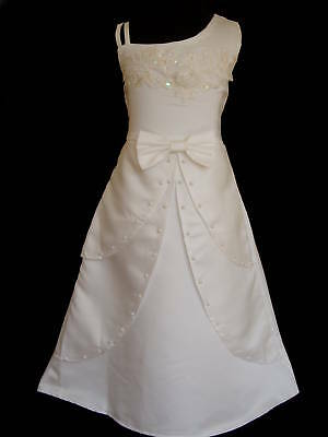 New Flower Girl Party Bridesmaid Wedding Pagent Dress