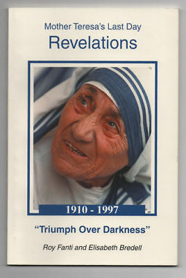 MOTHER TERESA MOTHER TERESA'S REVELATIONS A One Act Play Signed by Author RARE