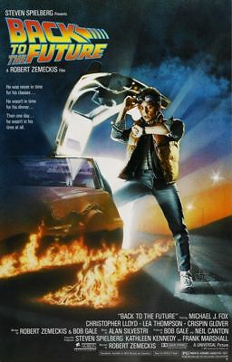 Poster Back To The Future Ritorno Al Futuro Spielberg 100X70