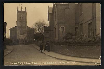 Congleton. St Peter's Church & Vicarage.