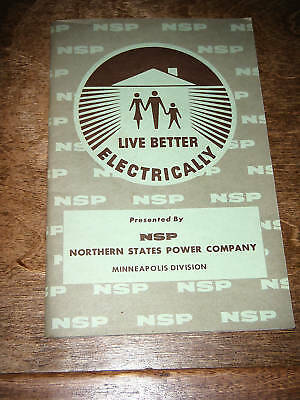 1950s North States Power NSP Mpls MN Division Cookbook