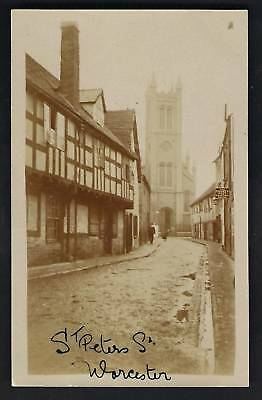 Worcester. St Peter's Street.