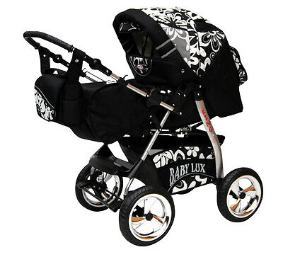 Lux4Kids King KOMBI KINDERWAGEN Car Baby 3-in-1
