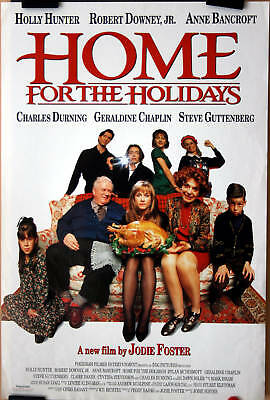 J Foster : R Downey Jr : Home For The Holidays : POSTER