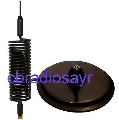 """CB Radio Antenna Kit - 7"""" Mag Mount with Small Springer Aerial"""