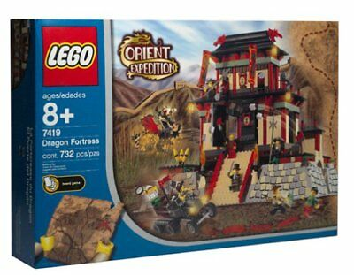LEGO ORIENT EXPEDITION 7419 NUOVO - Dragon Fortress - NEW