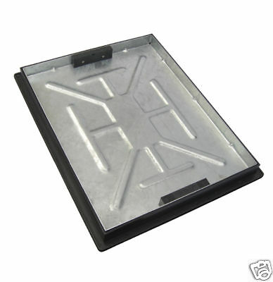 Clark Drain Recessed Manhole Cover and Frame 600 x 450 x 46mm