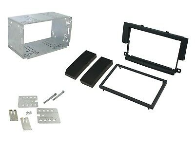 Mitsubishi Colt 2004-2008 Double Din Car Stereo Facia Fitting Kit CT23MT03