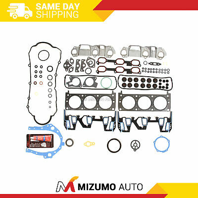 Fit 00-03 Pontiac Grand AM Buick Chevy Impala Oldsmobile 3.4 OHV Full Gasket Set