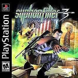 Syphon Filter 3 (Playstation) PS1 PSX PSOne