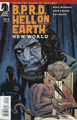 B.P.R.D.: Hell On Earth - New World #2 (of 5) Hellboy