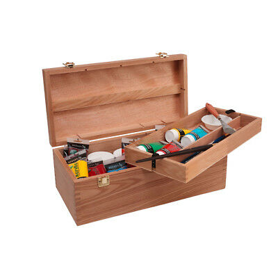 Jasart Artists' Paint Box Chest - Art supply Storage Craft Artist Wood painting