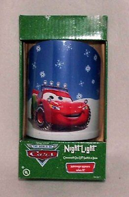 Disney Pixar Cars Lightning McQueen Night Light NEW!