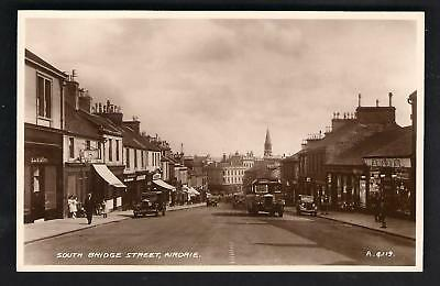 Airdrie. South Bridge Street by Valentine's # A 4119.