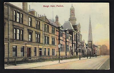 Partick. Burgh Hall in Record Series.