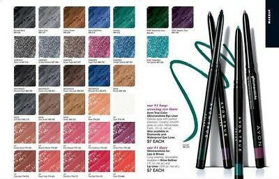 Avon Glimmerstick -Eye, Lip & Brow Liners -Choose Color