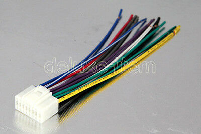 Astounding Clarion Wiring Harness Car Stereo 16 Pin Wire Connector 11 60 Wiring Cloud Favobieswglorg
