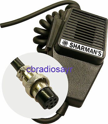 Replacement CB Microphone 6 Pin Wiring, Albrecht Midland etc