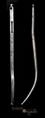 Post Medieval Georgian Silver Hair Pin / Bodkin 019918