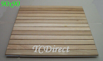 Slat Timber Square 90cm x 90cm Table Top T15