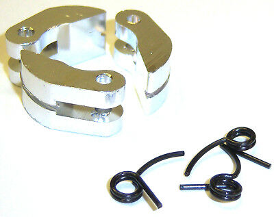 Nitro Engine 3 Shoe Aluminium Clutch with Spring Silver