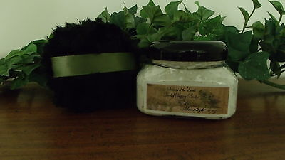 """4 oz. Herbal Shimmering Dusting Body Powders w/ Puff """"A-C"""" Scents"""