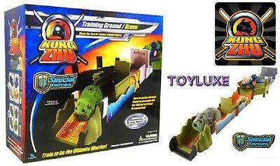 Kung Zhu Pet BUNKER BLASTER Course Play Set Special Forces Training Ground BRAVO
