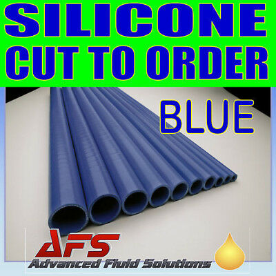 CUT BLUE 28mm I.D 1 1/8 inch Straight Silicone Hose Venair Silicon Radiator Pipe