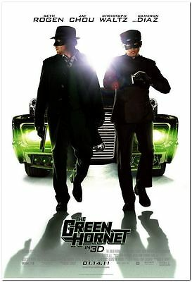 GREEN HORNET - 2011 - Original 27x40 D/S reg movie poster - SETH ROGEN, C.DIAZ