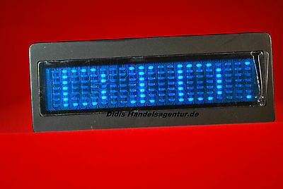 LED Namecard in Blau LED Namensschild NEU OVP