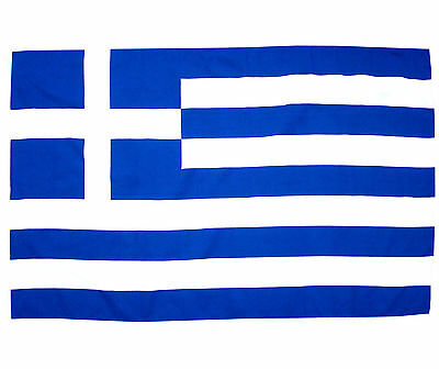 Fahne Griechenland Querformat 90 x 150 cm griechische Hiss Flagge Nationalflagge