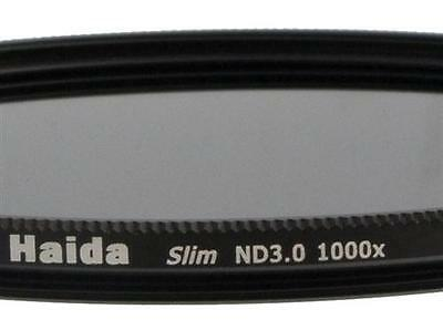 Haida Slim ND Graufilter ND1000x 62mm inkl. Cap mit Innengriff
