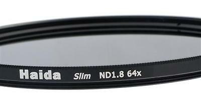 Haida Slim ND Graufilter ND64x 77mm inkl. Cap mit Innengriff