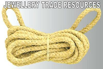 NEW LONG CASE REPLACEMENT ROPE FOR CLOCK REPAIR 7mm Diameter