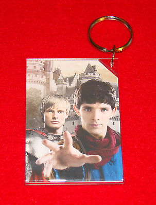 MERLIN  Colin Morgan and Bradley James  Keychain
