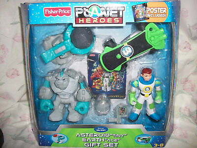 Fisher Price Planet Heroes Asteroid and Earth Gift Set
