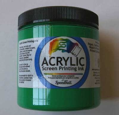 Speedball Acrylic Screen Printing Ink 8oz Select Colors