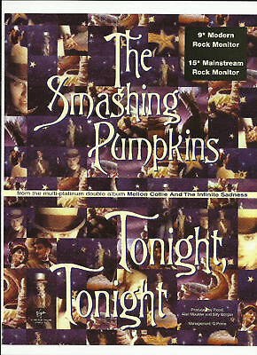 SMASHING PUMPKINS & HARRY CONNICK JR. Trade Ad POSTER