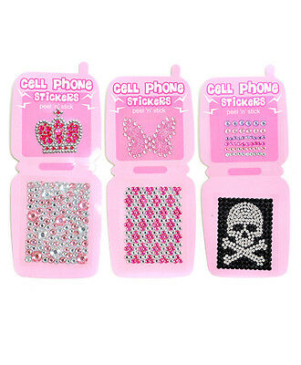 INSTA-BLING Assorted Cell Phone Stickers (MCP1090)