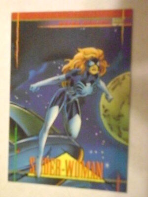Mint Marvel Universe 1993 Base Card #65 Spider-Woman