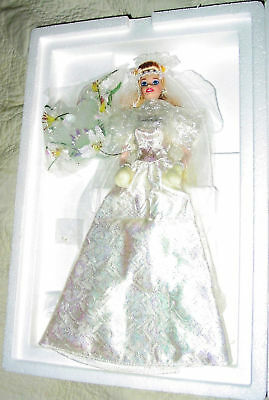 Barbie Star Lily Bride Doll Starlily Porcelain Shipper